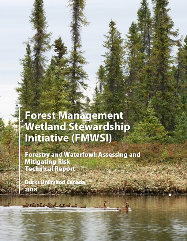 forestry and waterfowl assessing and mitigating risk technical report