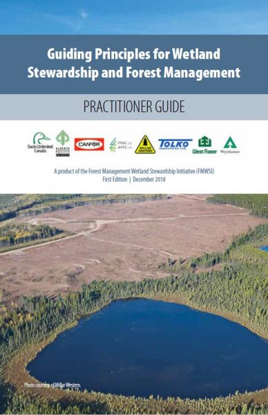 Guiding Principles for Wetland Stewardship and Forest Management