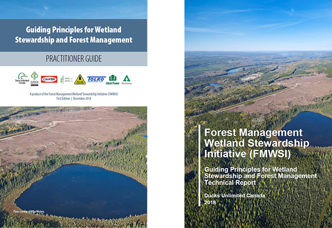 boreal wetlands forest management guides